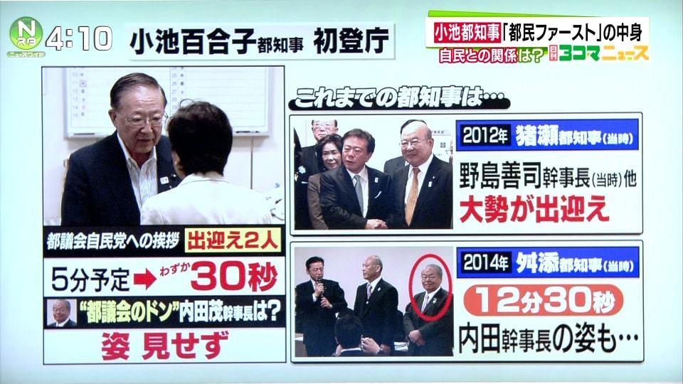 小池新都知事との握手を拒否した川井2
