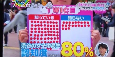 渋谷でTWICE大人気ニダー作戦7