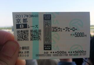 京都8R2017ハズレ