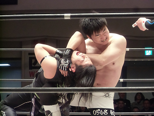 KITOと石田の攻防
