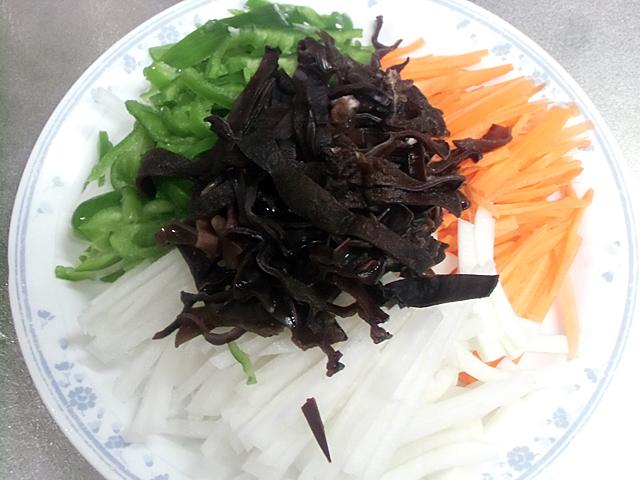 四色の野菜