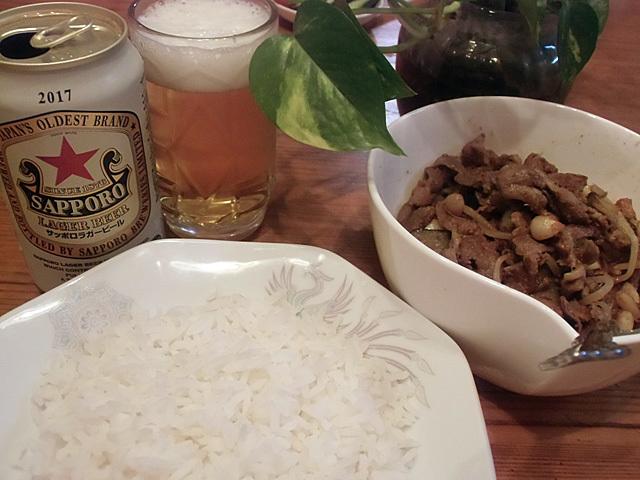 タイ米を炊きました
