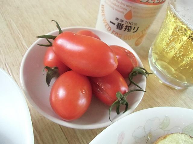 完熟のトマト
