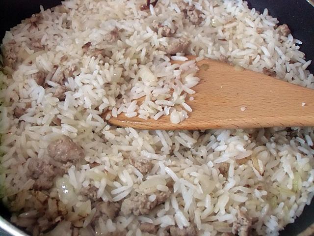 インディカ米投入