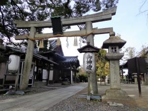 新熊野神社お