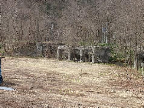 三笠市幾春別、旧幌内線軌道跡 (2)