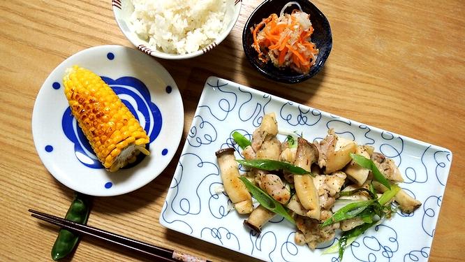 鶏肉のマジソル炒め定食
