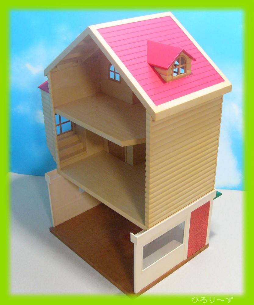 繋がる 赤い屋根のお家 8
