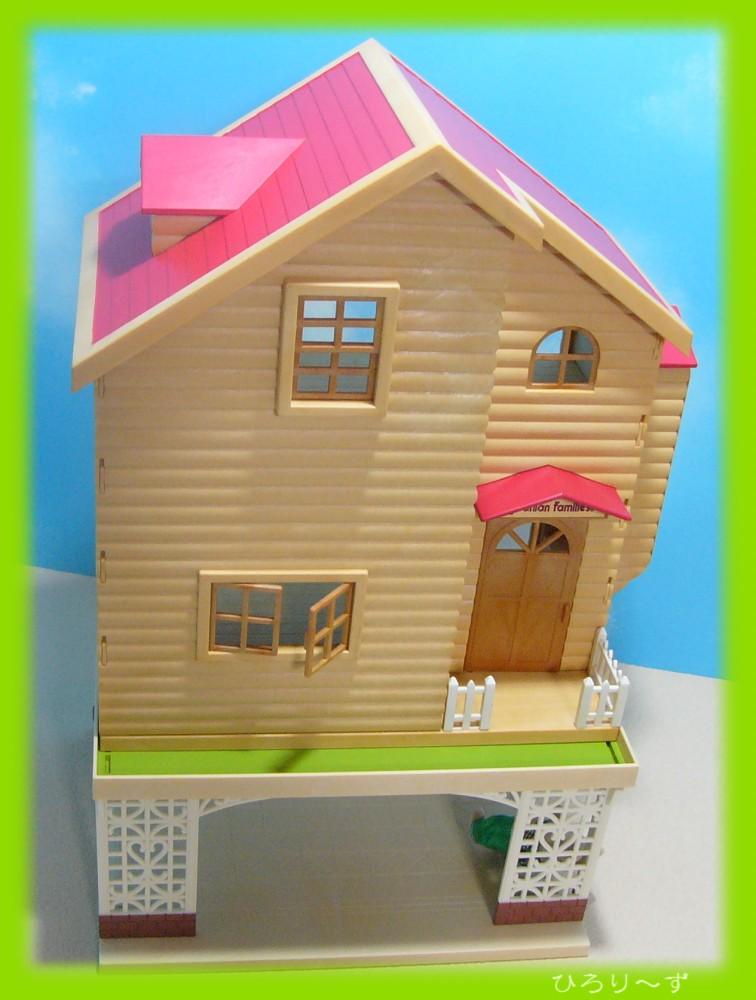 繋がる 赤い屋根のお家 13