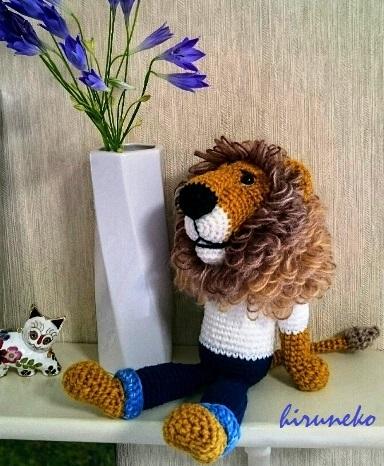 花とライオン