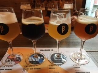 ベルギービール飲み比べ