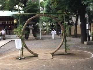 天祖神社茅の輪