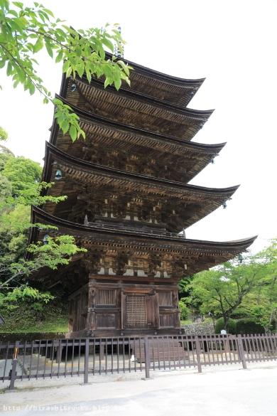 瑠璃光寺 五重塔ーSN