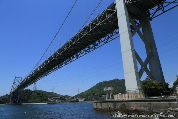 関門橋 福岡側ーSN