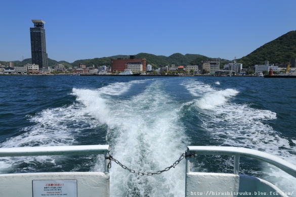 海上から門司港ーSN