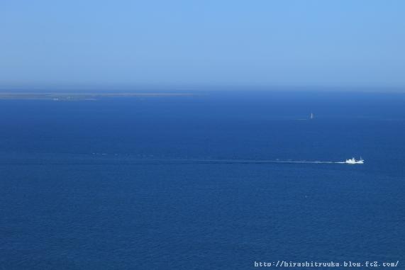 水晶島・貝殻島灯台方向ーSN