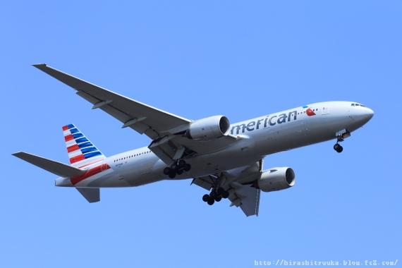 アメリカン航空 B777ーSN