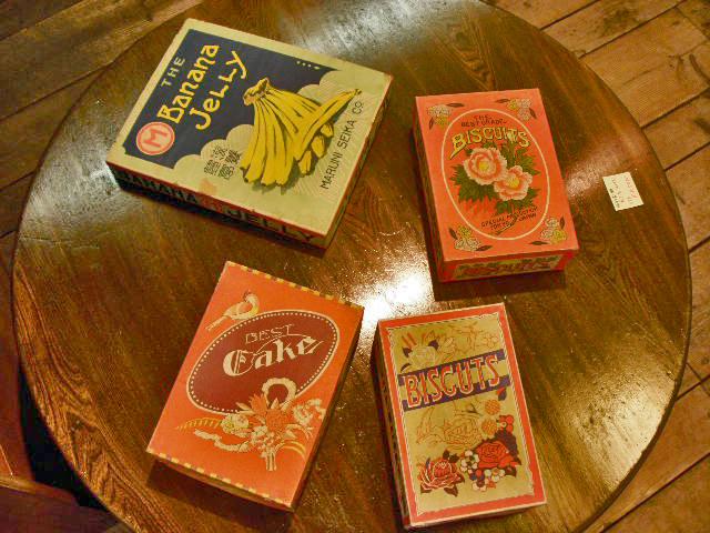 戦前輸出向菓子箱