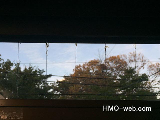 線入りガラス小さなヒビ2