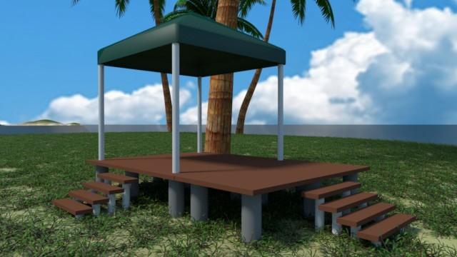 キャンプハウスの原型