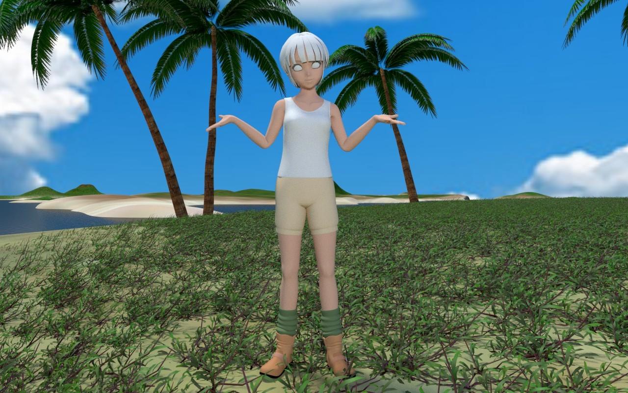 無人島に雑草を その3