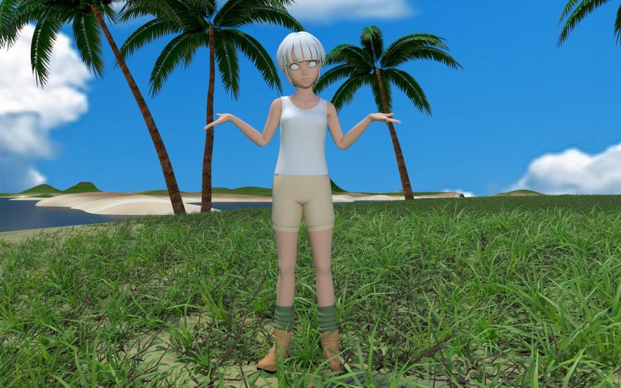 無人島に雑草を その4