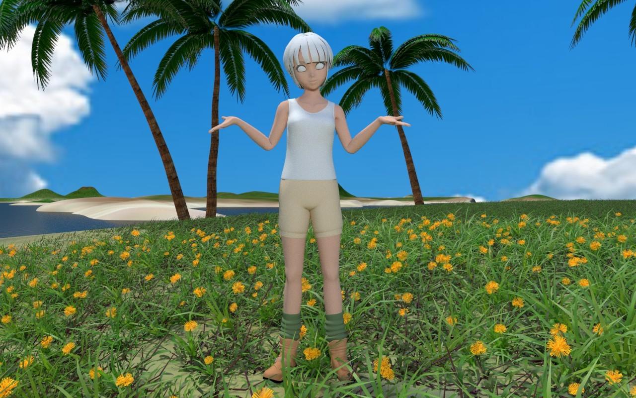 無人島に雑草を その5