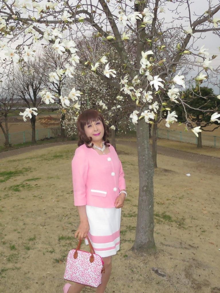 ピンクスーツA(4)
