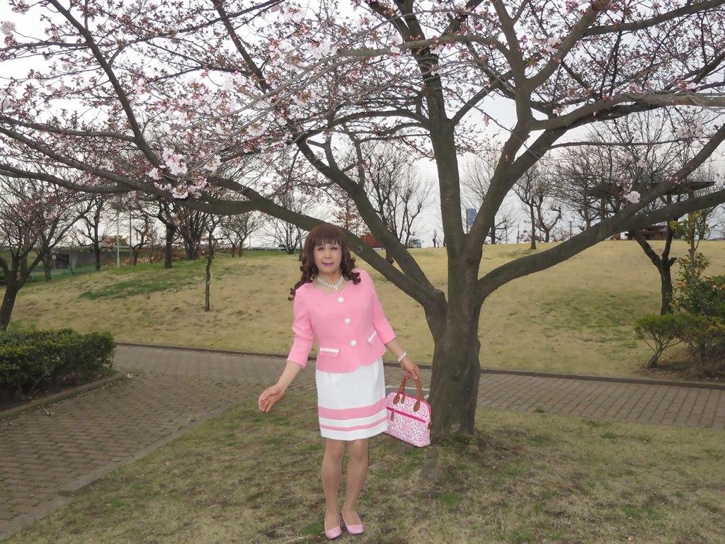 ピンクスーツA(5)