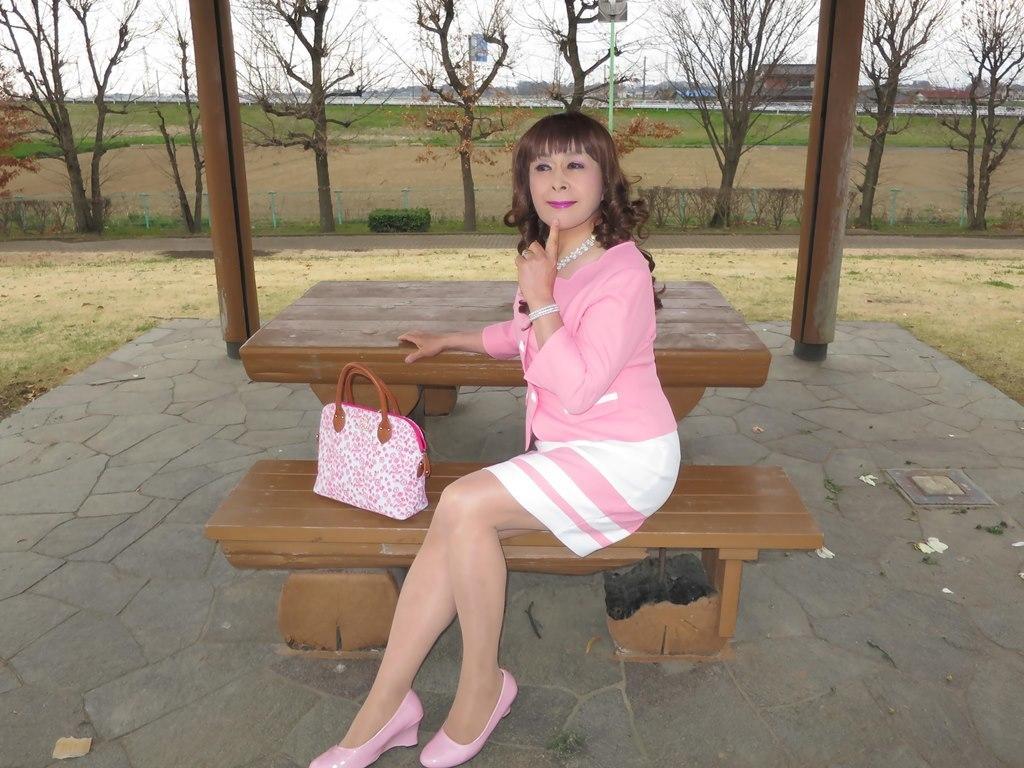 ピンクスーツC(7)