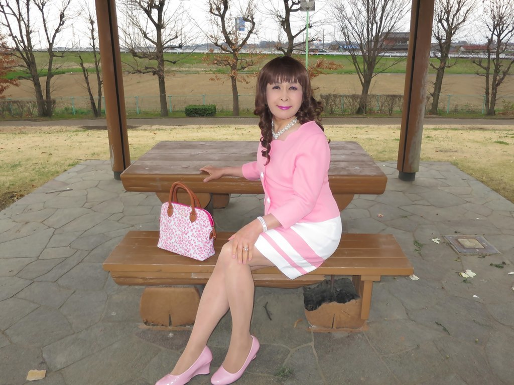 ピンクスーツC(6)