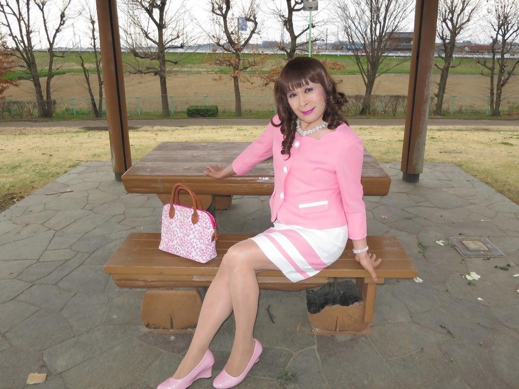 ピンクスーツC(8)