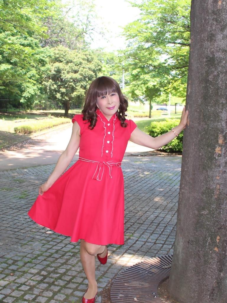 赤ワンピA(2)
