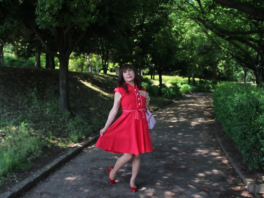 赤ワンピA(7)