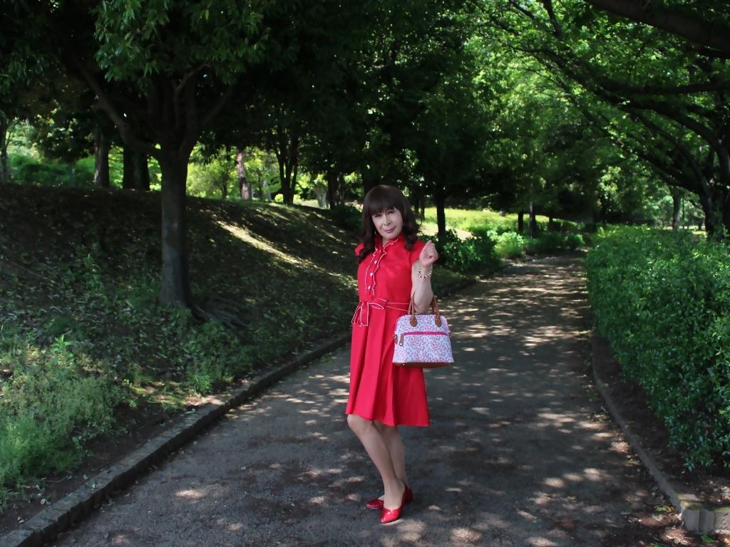 赤ワンピA(6)