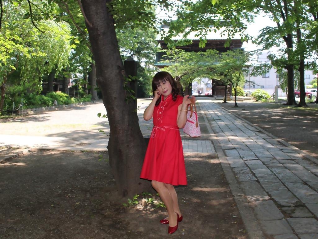 赤ワンピD(8)