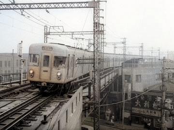 日比谷線 昭和49年9月の画像(カラー)
