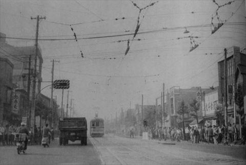 昔の山谷通りの画像