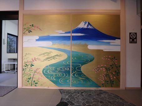 萩の湯(エントランス)