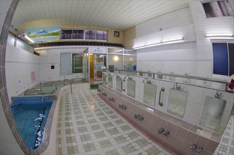 栄湯 洗い場