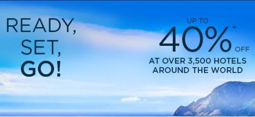 アコーホテルズのサマーセール 40%OFF