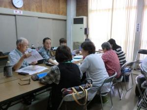 290615豊中教室 班別年間テーマ検討(3) -