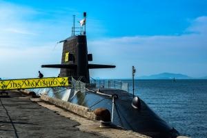 浜町埠頭潜水艦①