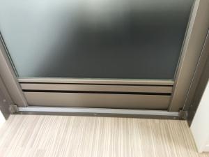 浴室扉下部の通気口
