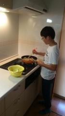 調理実習 (1)