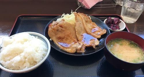 108 生姜焼き定食IMG_4526