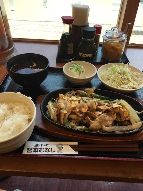 101 豚スタミナ定食IMG_4590