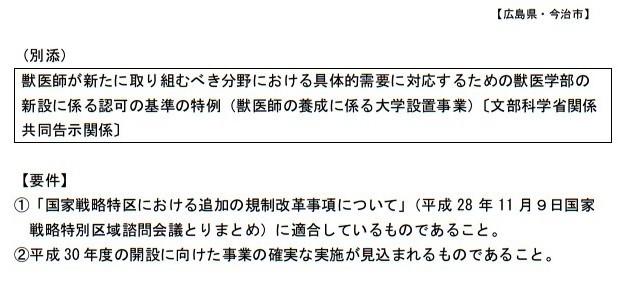 20170112国家戦略特別区域会議今治市 分科会 資料5 広島県・今治市国家戦略特別区域会議 構成員公募要項 (6)