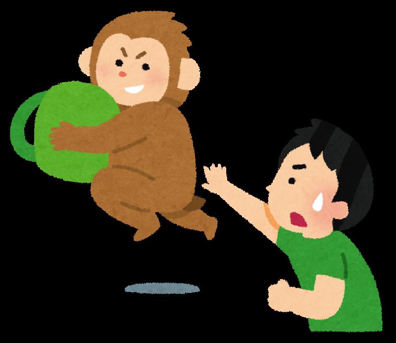 猿サル反省