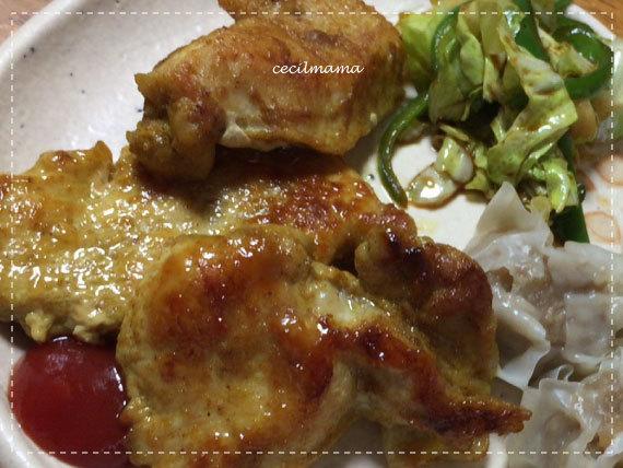 鶏むねのカレーソテー